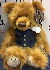 Silver Tag Bears Collectable 5 Limited Edition Bears by Suki - Louis Bear 18.5""