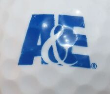 (1) A&E TELEVISION NETWORK LOGO GOLF BALL