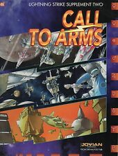 CALL TO ARMS-LIGHTNING STRIKE SUPPLEMENT TWO-(SC)-JOVIAN CRONICLES-neu-new