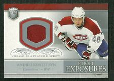 ANDREI KOSTITSYN 06-07 BE A PLAYER PLAYER WORN JERSEY MONTREAL CANADIENS