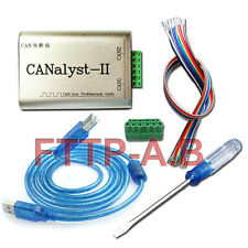 CANOpen J1939 DeviceNet, 2500 VRMS, Dual Channel USB To CAN Adapter Analyzer NEW