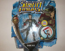 Spin Master Cartoon Network Storm Hawk Dark Ace Figure<spring loaded ENERGY 2007