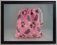 Gymnastics Leotard Grip Bags / Monkey and Bubble Gum Gymnast Birthday Goody Bag