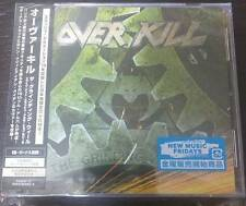"OVERKILL ""THE GRINDING WHEEL"" JAPAN CD +DVD +2 BONUS TRACKS *SEALED"""