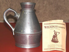 Wilton Armetale Pewter Irish Haystack Measure Jug 6""