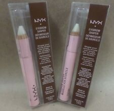 NYX EYEBROW SHAPER WAX PENCIL *ESB01* ENRICHED WITH VITAMIN E LOT OF 2 NEW