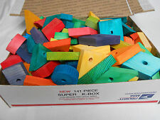 Bird Toy Parts, 141 PC SUPER K VARIETY BOX For Medium and Large Birds