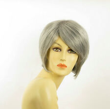 Short Wig for women gray ref: FRANE 51 PERUK