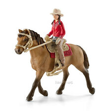 Schleich 42112 Western Rider with Quarter Horse Model Toy Figurine - NIP