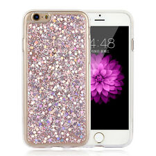 Luxury Bling Glitter Ultra Thin TPU Soft Case Cover For Apple iPhone 6 6s 7 Plus