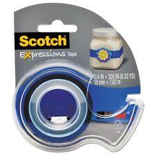 Scotch Expressions Magic Tape with Dispenser - C214BLU2D