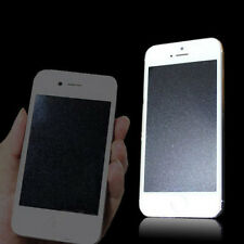 Front & Back Silver Diamond Sparkle Glitter Screen Protector For iPhone5 5S