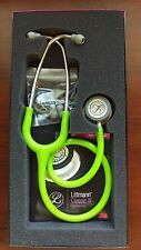 "3M Littmann Classic III 27"" Stethoscope LIME GREEN #5829 New in Box Warranty"
