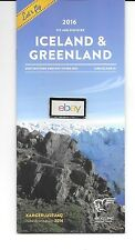 AIR ICELAND FLUGFELAG ISLANDS 2016 DESTINATIONS & TOURS BROCHURE GREENLAND-FAROE
