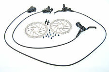 Promax Solve MOUNTAIN BIKE HYDRAULIC DISC BRAKE SET IN BLACK