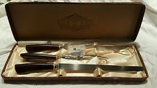 Glo Hill Corporation antique meat carving cutlery  set