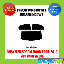 CHRYSLER 300C 4-DOOR 2005-2010 20% DARK REAR PRE CUT WINDOW TINT