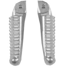 New Silver Front Footrest Footpegs For DUCATI 848 1098 1198 2008-2013 09 10 11