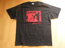 RANCID T-Shirt Größe XL INDESTRUCTIBLE 2003 HellCat SKA Rock PUNK  RAR