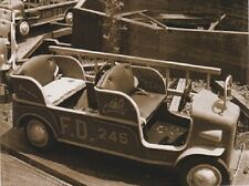 "+Postcard-""The Old Carnival Toy Fire Truck Ride""   ...Classic!"