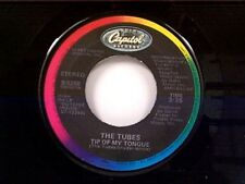 """THE TUBES """"TIP OF MY TONGUE / KEYBOARD KIDS"""" 45 MINT"""