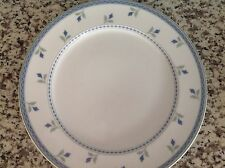 ONEIDA TABLE TRENDS GAIETY DINNER PLATE BLUE FLORAL PATTERN GC