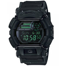 Mens Casio G-Shock green dial world time watch GD-400MB-1ER