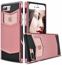 Luxury Hybrid Rubber Shockproof Heavy Duty Armor Case Cover For iPhone  7 Plus