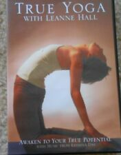 True Yoga Leanne Hall Workout DVD Fitness Awaken To Your True Potential Exercise