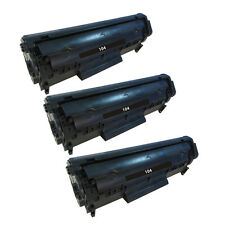 Reman Toner Cartridge for Canon imageClass MF4270 MF4350D MF4370DN(3 Black)