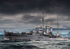 HMS EXETER WW2 - HAND FINISHED, LIMITED EDITION ART (25)