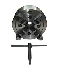 RDGTOOLS 200MM 4 JAW INDEPENDANT LATHE CHUCK / DIN QUALITY