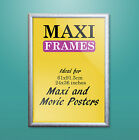 SILVER Wooden MAXI Poster Frame 61 x 91.5 CM 36 x 24 Inch