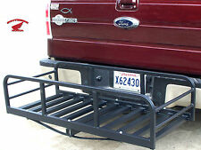 HITCH-N-RIDE MAGNUM XL HITCH CARGO CARRIER VEHICLES WITH REAR MOUNTED SPARE TIRE
