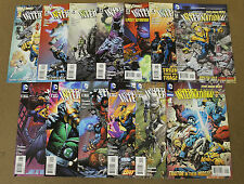 Justice League International (2011 DC) #1-12 + Annual Lot Of (13)