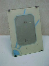 VINTAGE UNUSUAL DECO GLASS PICTURE PHOTO FRAME