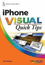 iPhone VISUAL Quick Tips by Shoup, Kate, Good Book
