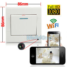 Wifi HD 1080P Wall Socket Hidden Camera SPY DVR Video Recorder Cam For Phone