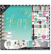 "NEW MAMBI Create 365 The Happy Planner ""Be Happy"""