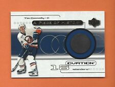 1999-00 OVATION A PIECE OF HISTORY TIM CONNOLLY GAME-USED PUCK #POH-TC ISLANDERS