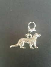 Pewter ferret clip on charm, bag charm Zip pull Charm FAST & FREE DELIVERY