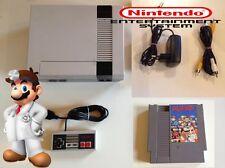 NES Nintendo - mit allen Kabeln + 1 Controller + Dr. Mario - leicht vergilbt