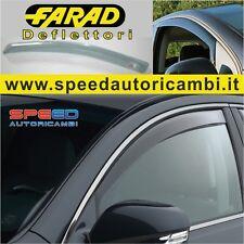 Deflettori Fiat Grande Punto evo - 5 porte dal 2005  Mini Deflettori Fumè farad