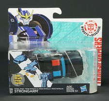 HASBRO TRANSFORMERS ROBOTS IN DISGUISE PATROL MODE STRONGARM POLICE CAR KIDS TOY