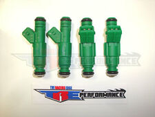 TRE 42lb Fuel Injectors Fit Bosch E30 S14 M10 Turbo DOHC 420a 440cc/min TT 4 42#