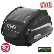 Motohart Speed Motorcycle Tank Bag 16L Motorbike Luggage Black RRP £49.99