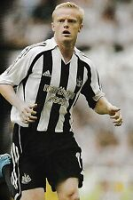 Football Photo DAMIEN DUFF Newcastle United 2006-07