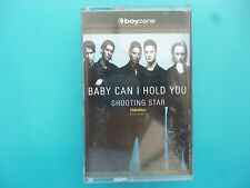 """BOYZONE  """" BABY CAN I HOLD YOU & SHOOTING STAR """"  CASSETTE SINGLE ( 2 TRACKS )"""