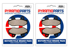 Honda FTR 250 1986 Front & Rear Brake Pads Full Set (2 Pairs)