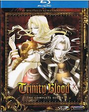 Trinity Blood: The Complete Series - Anime Classics (DVD, 2010, 3-Disc Set)